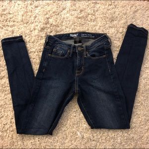 Target mossimo high rise skinny jeans